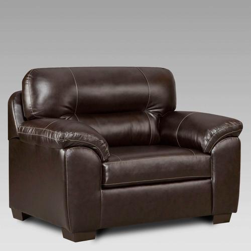 Austin Chocolate Chair and 1/2