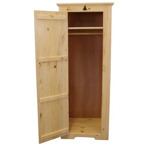 BW574 Broom Closet / Wardrobe with Tree Cutout