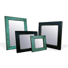 Bombay Black and Green Mirrors