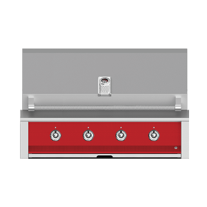 "Aspire By Hestan 42"" Built-In U-Burner and Sear Grill NG Matador Red"