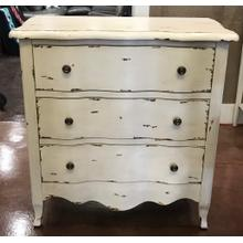 Antique White Accent Chest