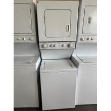 24 Inch Combination Washer / Electric Dryer Laundry Center (This is a Stock Photo, actual unit (s) appearance may contain cosmetic blemishes. Please call store if you would like actual pictures). This unit carries our 6 month warranty, MANUFACTURER WARRANTY and REBATE NOT VALID with this item. ISI 38316 B