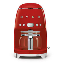 Smeg 50s Retro Style Design Aesthetic Coffee Machine, Red