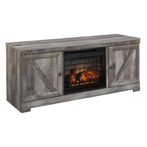 "Wynnlow Gray 63.5"" Fireplace TV Stand"