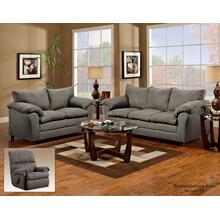 1150 Washington Living Room Flat Suede Graphite Houston Texas USA Aztec Furniture