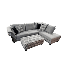 Albany Catwalk Zebra Sectional Sofa