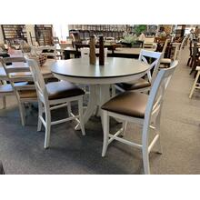 "5 Piece ""Cosmopolitan"" High Dining Set"