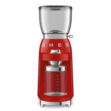 Smeg 50's Retro Style Design Aesthetic Coffee Grinder, Red