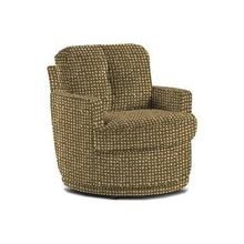 SKIPPER Swivel Barrel Accent Chair