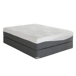 "12"" Cool Reflections Phase III Gel Infused Memory Foam Mattress"