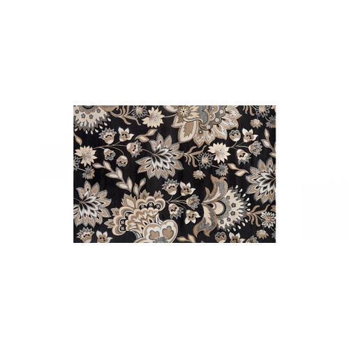 Gallery - Black/Beige Glamor Rug