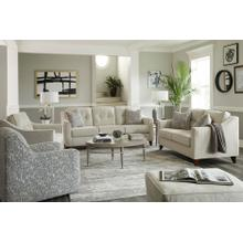BEHOLD 4840-03-1597-01  4840-02-1597-01  6825-1598-10 Oliver Sand Sofa, Loveseat & Swivel Accent Chair Group