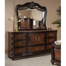 See Details - Venice Beveled Bedroom Mirror