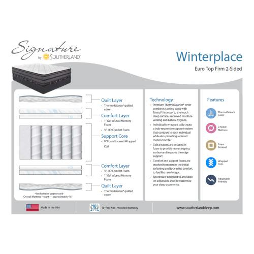 Southerland - Signature Collection - Winterplace - Firm - Euro Top
