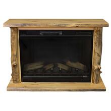 Aspen Slab Fireplace