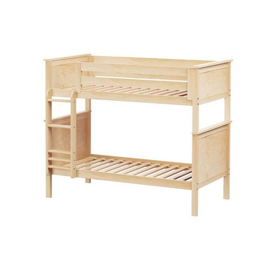 Jackpot Bristol Twin/Twin Bunk   Trundle Storage In Natural Finish