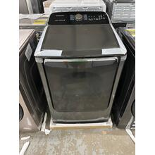 7.4 cu. ft. Electric Dryer with Steam Sanitize  in Black Stainless Steel ****SCRACH OR DING ITEM***** 1 YEAR WARRANTY***