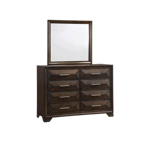 UNITED 1035-10-50-51-53-52 Anthem 3-Piece Bedroom Group - Queen Bed, Dresser & Mirror