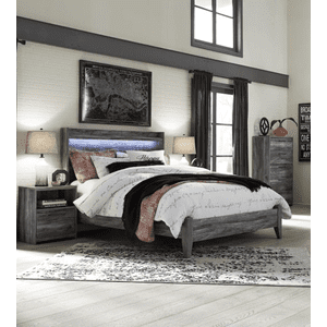 Packages - Baystorm - Gray 3 Piece Bed Set (Queen)