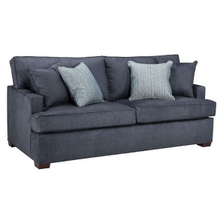 QUEEN SLEEPER SOFA WITH GEL MEMORY FOAM MATTRESS in DENIM      (WARE-7350Z-DENIM,25002)