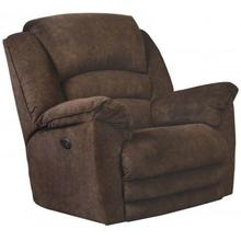 See Details - Rialto Brown Chaise Rocker Recliner