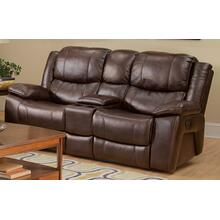 Kenwood Reclining Console Love Seat