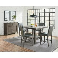 Halden Grey 5PC Counter Height Table Set
