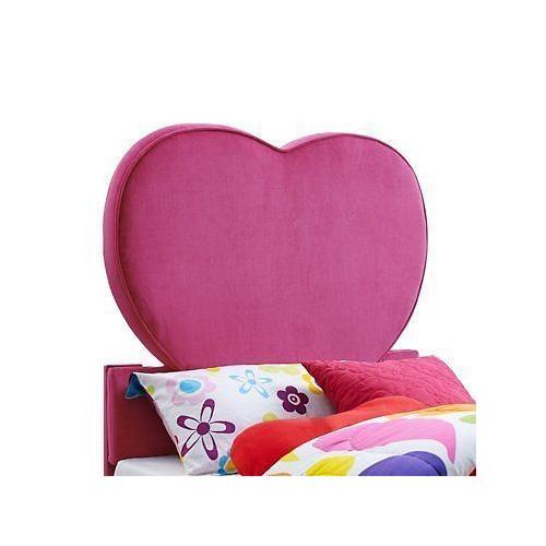 Powell Company - Pink Heart Twin Headboard