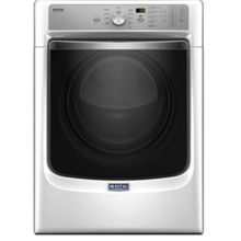 """Maytag Large Capacity Dryer with Refresh Cycle with Steam and PowerDry System """" 7.4 cu. ft. - White"""
