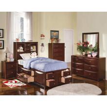 Acme 04090 Manhattan Twin Bed w/1 Side Rev. Storage Bedroom set Houston Texas USA Aztec Furniture