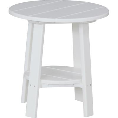 Deluxe End Table White