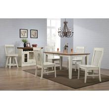 See Details - Leg Table w/ Leaf - Choices Collection