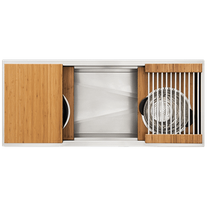 The Galley Workstation - Ideal Workstation 4 Single Bowl