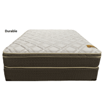 Durable Tuff Bedding Queen Mattress w/Box Springs
