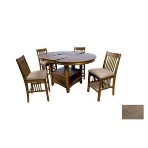 Pub Table and Solid Wood Barstools