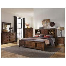 Wolf Creek King Bookcase Bed