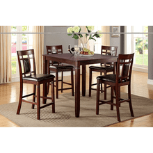 Cashew - 5 PCS Counter-Height Dining Set - Cherry