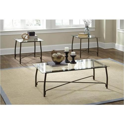 Ashley Furniture - Burmesque Occasional Table Set