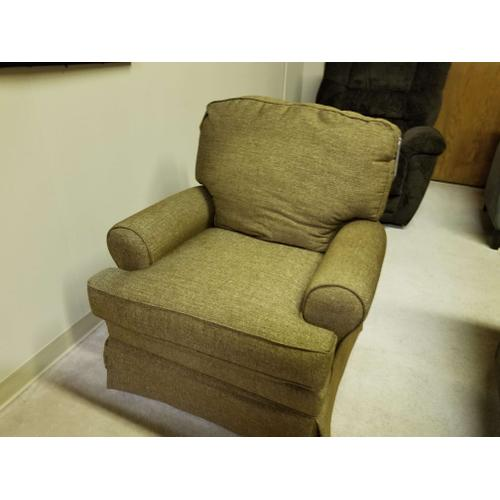 Toasted Pecan Pushover Chair