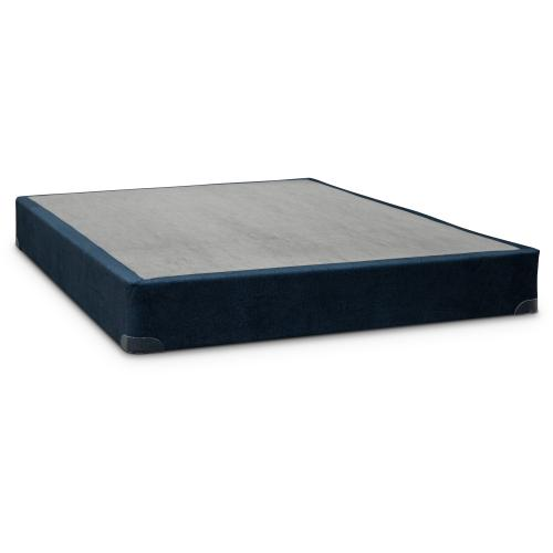 QUEEN SERTA BLUE BOX SPRING