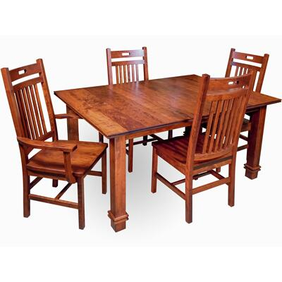 Sticks & Grooves Dining Room Set