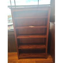 See Details - Alder Shaker 36x60 Bookcase - Antique Cherry