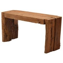 Notched Timber Console