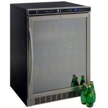 "24"" Built-in Beverage Cooler with Glass Door"