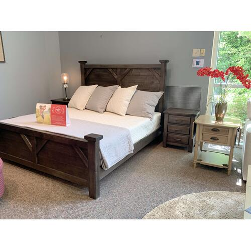 King Rustic Bedroom Set