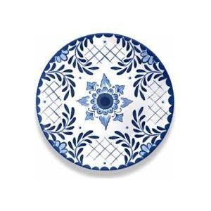 Cobalt Casita Dinner Plate