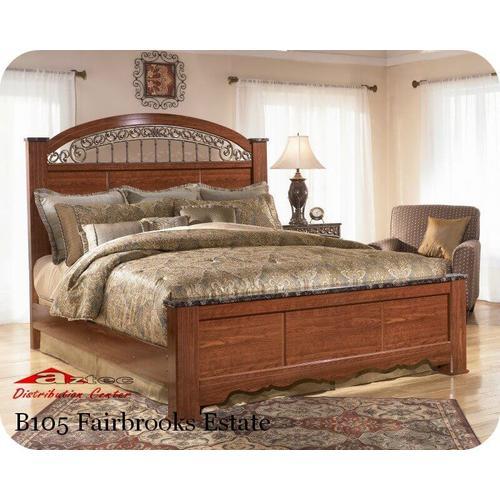 Ashley Furniture - Ashley B105 Fairbrooks Estate Bedroom set Houston Texas USA Aztec Furniture