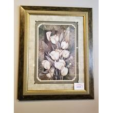 Midwest Golden Calla Lillies Framed Picture