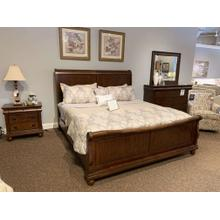 See Details - Rustic Traditions King Sleigh Bedroom Set