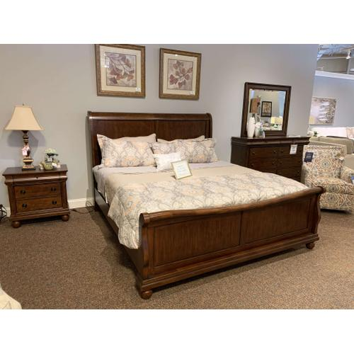 Rustic Traditions King Sleigh Bedroom Set